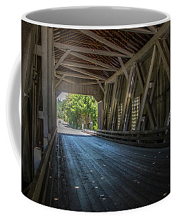 From The Inside Looking Out - Shimanek Bridge Coffee Mug