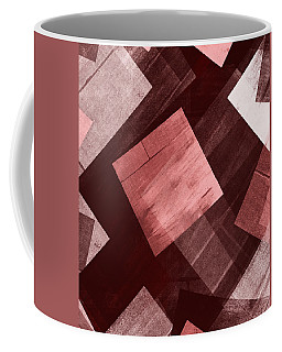 Coffee Mug featuring the mixed media From The Other Side 12 by Sir Josef - Social Critic - ART