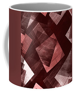 Coffee Mug featuring the mixed media From The Other Side 14 by Sir Josef - Social Critic - ART