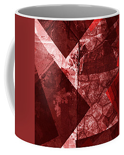 Coffee Mug featuring the mixed media From The Other Side Eight by Sir Josef - Social Critic - ART