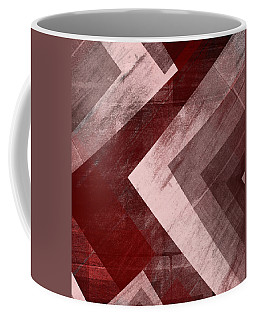 Coffee Mug featuring the mixed media From The Other Side Eleven by Sir Josef - Social Critic - ART