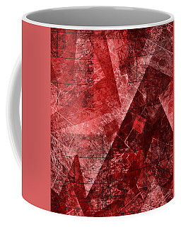 Coffee Mug featuring the mixed media From The Other Side Five by Sir Josef - Social Critic - ART
