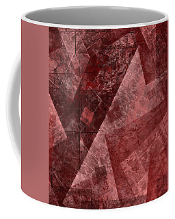 Coffee Mug featuring the mixed media From The Other Side Four by Sir Josef - Social Critic - ART