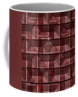 Coffee Mug featuring the mixed media From The Other Side Nine by Sir Josef - Social Critic - ART
