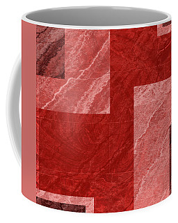 Coffee Mug featuring the mixed media From The Other Side One by Sir Josef - Social Critic - ART