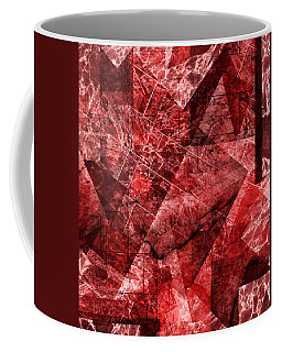 Coffee Mug featuring the mixed media From The Other Side Six by Sir Josef - Social Critic - ART
