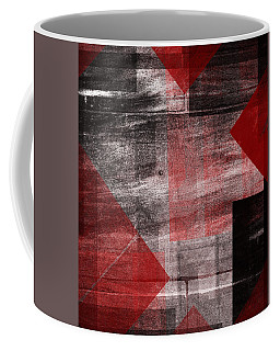 Coffee Mug featuring the mixed media From The Other Side Ten by Sir Josef - Social Critic - ART