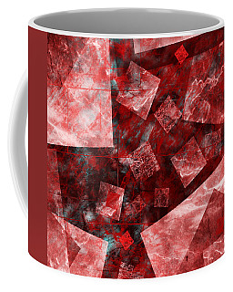 Coffee Mug featuring the mixed media From The Other Side Three by Sir Josef - Social Critic - ART