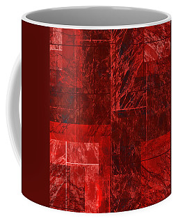 Coffee Mug featuring the mixed media From The Other Side Two by Sir Josef - Social Critic - ART