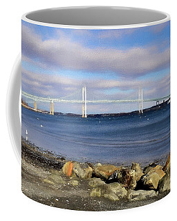 From The Shores Of Jamestown Coffee Mug