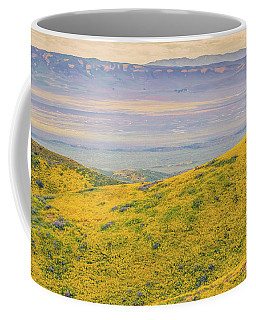 From The Temblor Range To The Caliente Range Coffee Mug