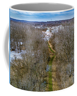 From Woods To Snow Coffee Mug