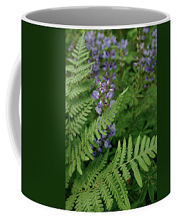 Fronds And Flowers Coffee Mug by Tim Good