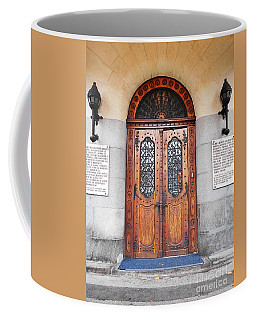 Front Door Of The Prefecture Palace Coffee Mug
