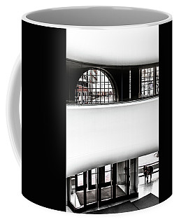 Front Entrance/lobby Of The Overture Center Coffee Mug
