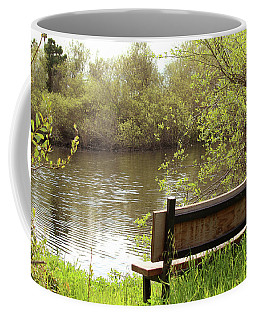 Coffee Mug featuring the photograph Front Row Seat by Art Block Collections