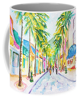 Front Street Philipsburg St. Maarten  Coffee Mug