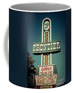Frontier Hotel Sign, Las Vegas Coffee Mug
