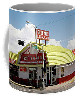 Frontier Restaurant Albuquerque Coffee Mug by Bob Pardue