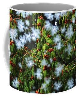 Frost And Cedar Coffee Mug