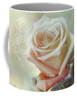 Frosty Rose Coffee Mug by Bonnie Willis