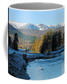 Frost In The Glen - Invercauld Coffee Mug