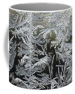 Frost Patterns On A Window Coffee Mug by Tamara Becker