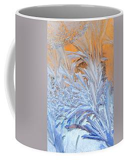 Frost Patterns On Window Coffee Mug