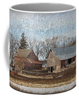 Ice Chrystal Barns Coffee Mug by Kathy M Krause