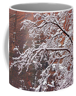 Frosted Branches Coffee Mug