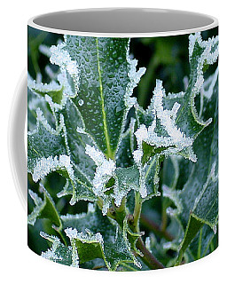 Frosted Holly Coffee Mug