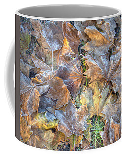 Frosted Leaves 8x10 Coffee Mug