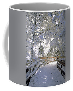 Frosty Boardwalk Coffee Mug