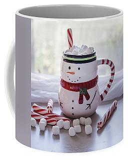 Coffee Mug featuring the photograph Frosty Christmas Mug by Kim Hojnacki