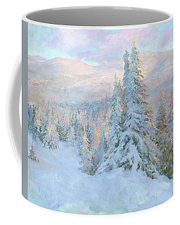 Frosty Evening Coffee Mug
