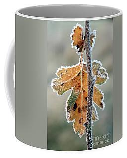 Frosty Leaf Coffee Mug