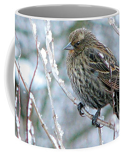 Winter's Perch Coffee Mug