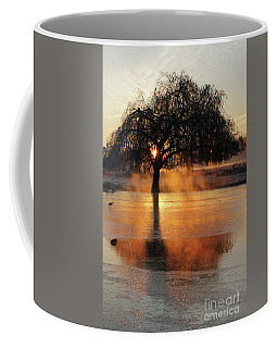 Frosty Sunrise In Bushy Park London 2 Coffee Mug