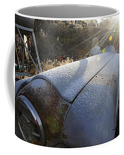 Frosty Tractor Coffee Mug