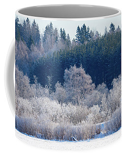Frosty Trees Of February Coffee Mug