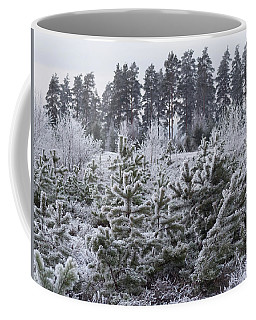 Frosty Winter Treescape Coffee Mug