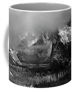 Frosty Yosemite Day Coffee Mug