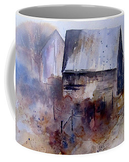 Frozen Barn Coffee Mug