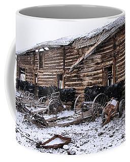 Frozen Beef Coffee Mug by Susan Kinney