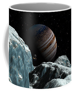 Frozen Blue Gem Coffee Mug by David Robinson
