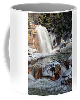 Frozen Douglas Falls Coffee Mug