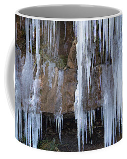 Coffee Mug featuring the photograph Frozen by Ester Rogers