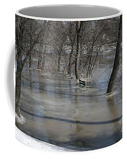Frozen Floodwaters Coffee Mug