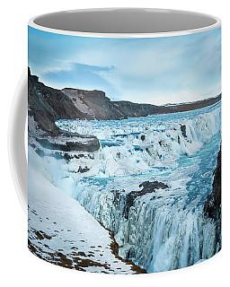 Frozen Gullfoss Coffee Mug