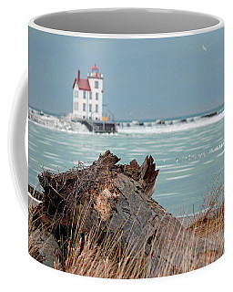 Frozen Harbor Coffee Mug